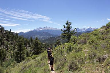 Rocky Mountains National Park Hike. Photo by Mathijs Janssen