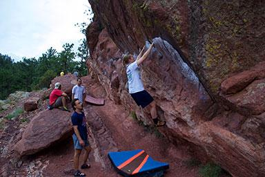Flagstaff Dessert and Bouldering. Photo by Mathijs Janssen