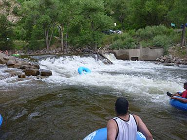 Boulder Creek Tubing. Photo by Robert Schulz
