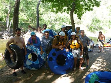 Boulder Creek Tubing 2. Photos by Robert Schulz