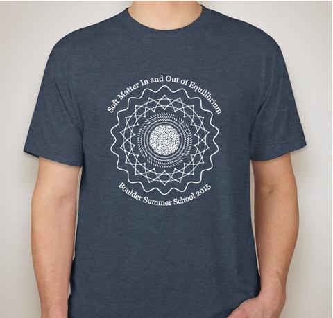 2015 Boulder School Tee-Shirt Contest Winner (Front View)