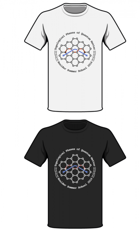 2016 Boulder School Tee Shirt Contest Winner. Toric Code Model design by Yizhuang You